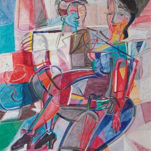 Couple Assis – 120 X 110